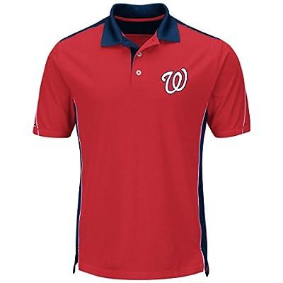 "Washington Nationals Majestic MLB ""To The 10th"" Men's Performance Polo Shirt"