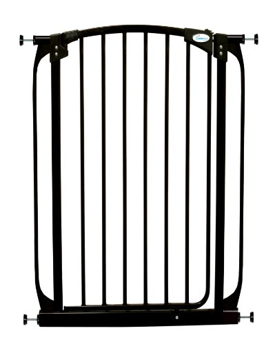 Dreambaby Extra Tall Swing Closed Security Gate Black