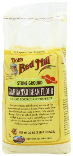 Bob's Red Mill Garbanzo Bean Flour, 22-Ounce (Pack of 4)