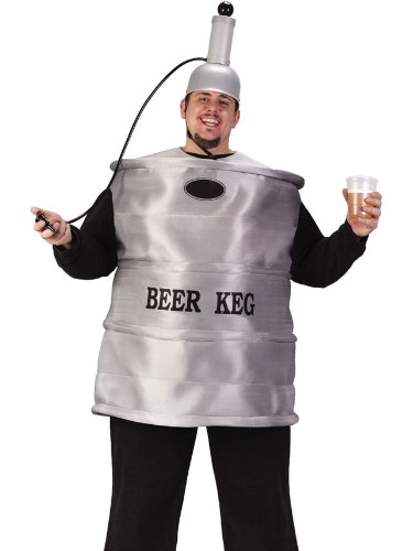 Mens Beer Keg Costume College Humor Costume Funny Theatre Costumes Easy Idea