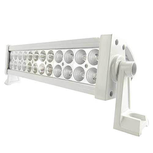 """Generic 14"""" Off Road Led Work Light Bar Flood Beam-3W Led-72W-6000 Lumen Great For Jeep Cabin/Boat/Suv/Truck/Car/Atv,White Color"""