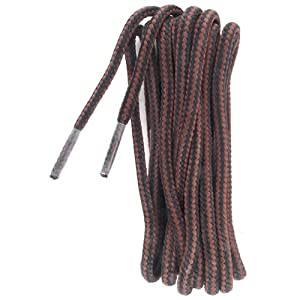"""Stay-Ty Waxed Boot Lace, 54"""" Brown"""