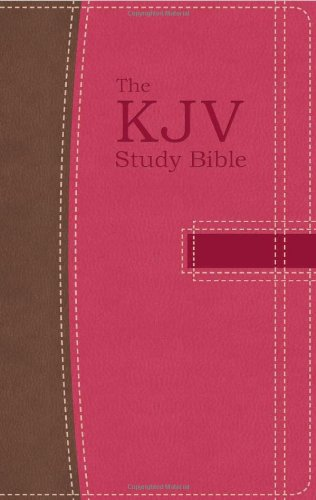 The Kjv Study Bible Handy Size (Pink/Brown) (King James Bible) front-946808