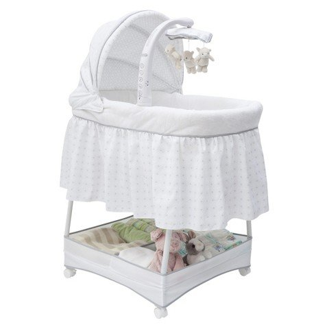 Simmons Kids Elite Gliding Bassinet - 1