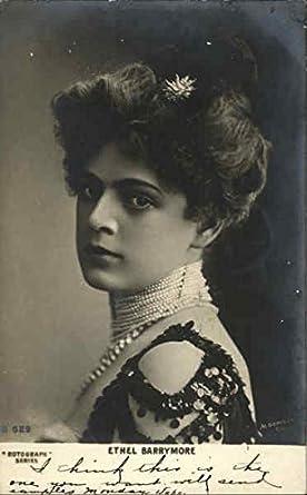 Ethel Barrymore Actresses Original Vintage Postcard at Amazon's