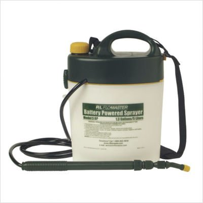 RL Flomaster 5BP 5 Liter Portable Battery-Powered Sprayer (RLF5BP) Category: Lawn and Garden Sprayers