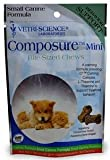 Vetri-Science Composure Small Canine, 30 Mini Bite-Sized Chews