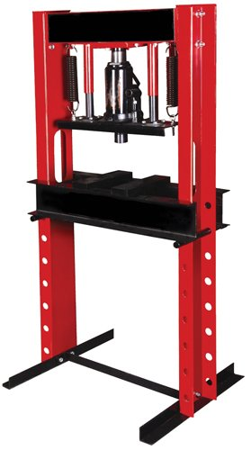 Nesco Tools 9720 Hydraulic Shop Press - 20 Ton Capacity