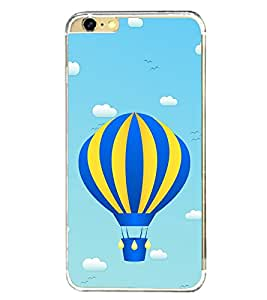 Hot Air Balloon 2D Hard Polycarbonate Designer Back Case Cover for Apple iPhone 6 Plus :: Apple iPhone 6+