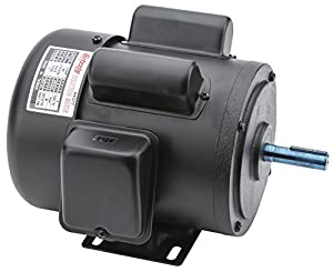 Grizzly h5377 motor 3 4 hp single phase 1725 rpm tefc 110v 3hp 220v single phase motor