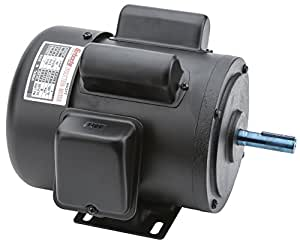 Grizzly h5377 motor 3 4 hp single phase 1725 rpm tefc 110v for 3 hp single phase 220v motor
