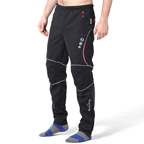 4ucycling Windproof Athletic Pants for Outdoor and Multi Sports Black Xl-promise (Personal Training Shirts compare prices)
