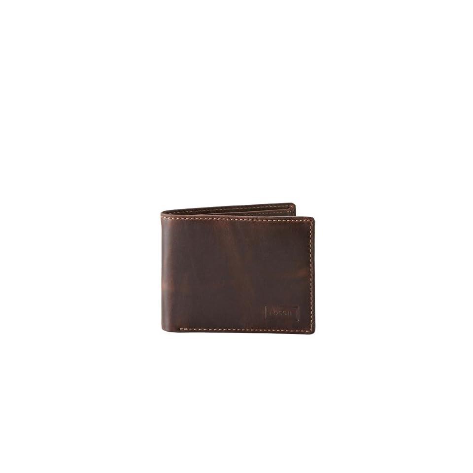 Fossil Sam Traveler Wallet Ml3079200 Color Brown Wallet