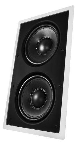 Osd Audio Iws-88 Dual 8-Inch Polypropylene 240-Watt Passive Home Theater In-Wall Subwoofer