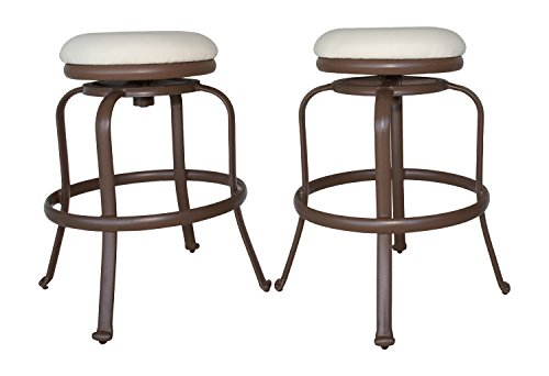 Panama-Jack-PJO-1401-ESP-BS-Tiki-Backless-Swivel-Barstools-Set-of-2-Espresso