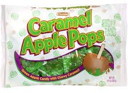 Tootsie Caramel Apple Pops 8 count 5 oz (2 Packs)