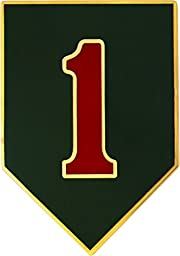 1st Infantry Division CSIB - Army Combat Service Identification Badge