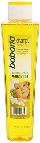 BABARIA - CHAMPÚ niños manzanilla 600 ml-unisex