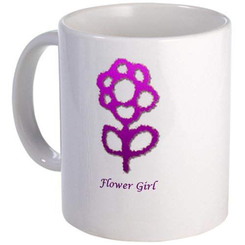 Cafepress Flower Girl Mug - Standard