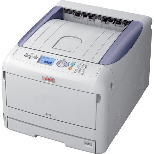 """Oki Data - Oki C800 C831N Led Printer - Color - 1200 X 600 Dpi Print - Plain Paper Print - Desktop - 35 Ppm Mono / 35 Ppm Color Print - 400 Sheets Input - Lcd - Fast Ethernet - Usb """"Product Category: Printers/Laser & Inkjet Printers"""""""