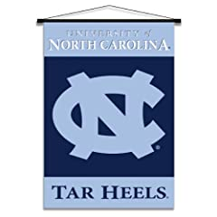 Buy NCAA North Carolina Tar Heels Indoor Banner Scroll by BSI