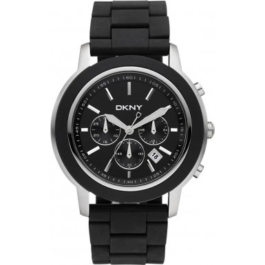 DKNY NY1493 Mens Sport Chronograph Black Watch