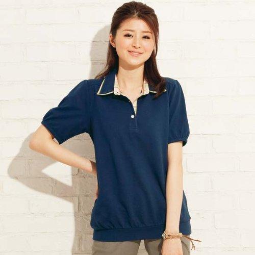 (タスタス(大きいサイズ))tasse tasse ポロシャツ(2枚衿ポロシャツ) レディス