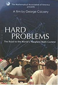 HARD PROBLEMS: THE ROAD TO THE WORLD'S TOUGHEST MATH CONTEST  DVD