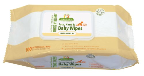 Babyganics Thick N' Kleen Extra Gentle Baby Wipes,