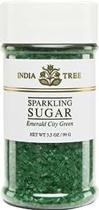 India Tree Emerald City Green Sugar Sprinkles 10213