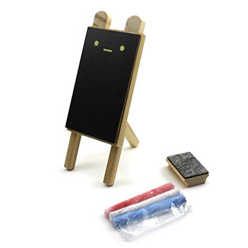 HuaYang-Mini-DIY-Holztisch-Tafel-Nachricht-Tafel-Nachricht-Etiketten-Notiz-Brett-Kreide-Pinsel-Satz