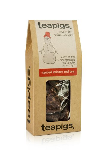 Teapigs Spiced Winter Red Tea 37.5 g (Pack of 1, Total 15 Tea Bags)