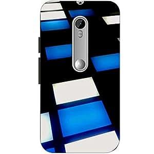 Joe Printed Hard Back Case For Motorola Moto G3 Mobile (Multicolor)