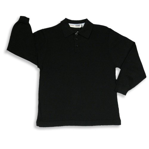 Perry Ellis - Boys Long Sleeved Knit Polo, Black - Buy Perry Ellis - Boys Long Sleeved Knit Polo, Black - Purchase Perry Ellis - Boys Long Sleeved Knit Polo, Black (Perry Ellis, Perry Ellis Boys Shirts, Apparel, Departments, Kids & Baby, Boys, Shirts, T-Shirts, Long-Sleeve, Long-Sleeve T-Shirts, Boys Long-Sleeve T-Shirts)