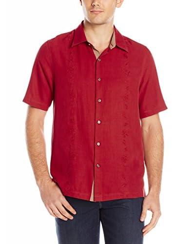Nat Nast Men's Canon Tonal Silk Embroidery Shirt