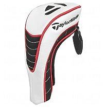 TaylorMade TM Hybrid Headcover, White