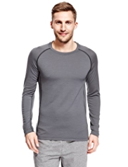 Pure Merino Wool Long Sleeve Thermal Vest