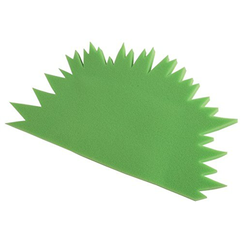 Foam Child Size Spike Green Mohawk Hat - 1