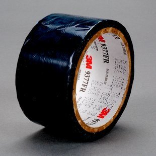3M 9377 Black / White Aerospace Tape - 2 in Width x 12 mil Thick - Flame Retardant - 25816 [PRICE is per ROLL]