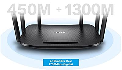 TP-LINK TL-WDR7400 1750Mbps 11AC Dual Band Wireless Router Wall-Penetrating 6 Antennas Intelligent WIFI