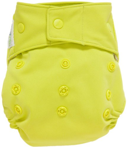 GroVia Cloth Diaper Cover - Snap - Citrus - One Size
