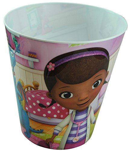 Disney Doc McStuffins Plastic Trash Can - 1