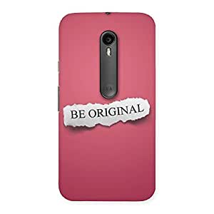 Special Be Orignal Multicolor Back Case Cover for Moto G Turbo