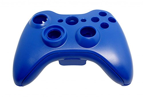 TopOne Xbox 360 Wireless Controller Replacement Shell Blue (Xbox 360 Replacement Console Case compare prices)