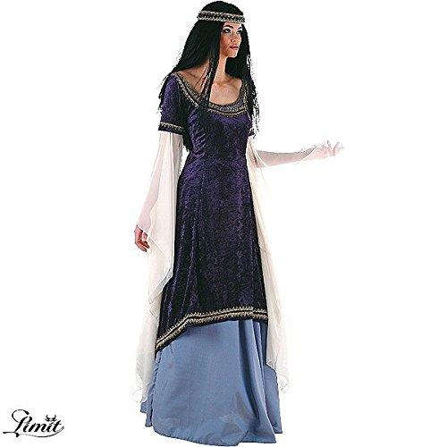 Costume Da Donna - Principessa Degli Elfi - Costume Medievale - Eventi Larp - Feste A Tema - M