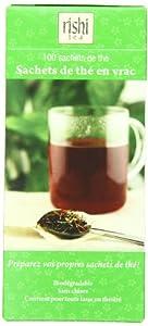 Rishi Tea Loose Leaf Tea Bags, 100-count (Pack of 6)