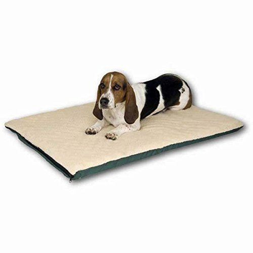 K&H Pet Products Ortho Thermo Bed Extra Large White and Gree