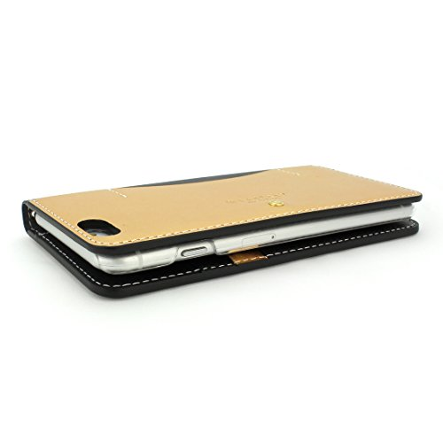 【日本正規代理店品】 DESIGN SKIN Wetherby・Stud for iPhone6 Plus (Black) I6P06-14D398-01