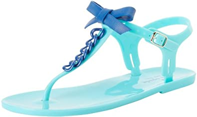 凯特丝蓓Kate Spade New York Women's Farren 女士天蓝色凉鞋 $30.54