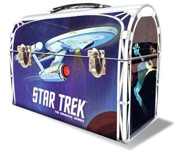 Polar Lights 1/1000 TOS Star Trek USS Enterprise in Lunchbox Tin Model Kit (Star Trek Lunch Box compare prices)